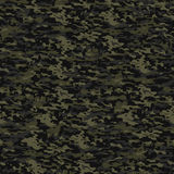 Green camouflage. Typical seamless camouflage pattern in dark green colors Stock Photo