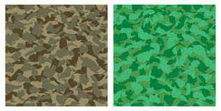 Green camouflage Stock Photos
