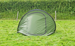 Green Camping Royalty Free Stock Photography