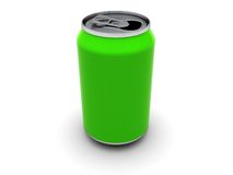 Green can Royalty Free Stock Photos