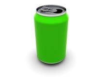 Green can Royalty Free Stock Photos