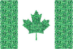 Green Canada vector illustration