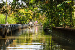 Green Canal Royalty Free Stock Photos