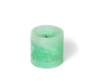 Green candle Stock Photos