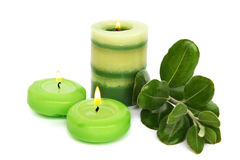 Candles Royalty Free Stock Photos