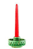 Green Candlestick Stock Images