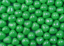 Green Candy. Pile of bright green candy royalty free stock image
