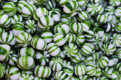 Green candy close Royalty Free Stock Photo