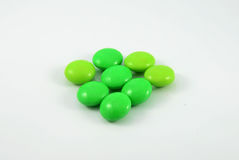 Green Candy Stock Photo