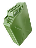 Green canister Stock Image