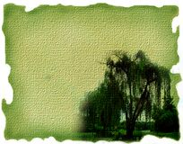 Green canvas Royalty Free Stock Image