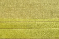 Green canvas fabric Stock Photo