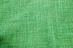 Green canvas texture Royalty Free Stock Photos