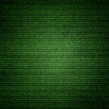 Green canvas texture abstract background with vignette Royalty Free Stock Photo