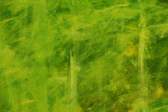 Green canvas texture for background Royalty Free Stock Images