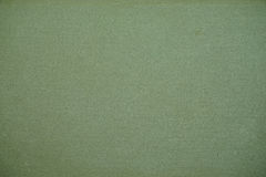 Green canvas texture or background Royalty Free Stock Photography