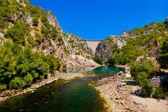 Green canyon at Turkey Royalty Free Stock Photos