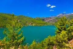 Green canyon at Turkey Stock Image