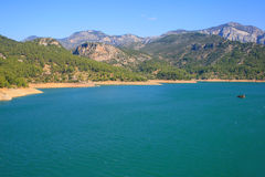 Green canyon is Turkey. Forest and lake, green canyon is Turkey stock image