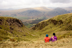 Green canyon view in Wasdale Royalty Free Stock Photo