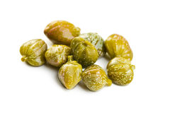 Green capers Royalty Free Stock Image