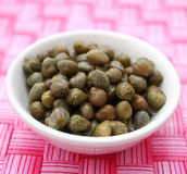Green Capers Royalty Free Stock Photography