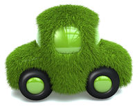 Green car Royalty Free Stock Photos