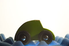 Green Car. A small toy green car Stock Images