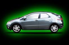 Green car royalty free stock photos