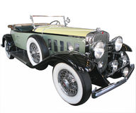 Green Car from 1920's Royalty Free Stock Photos
