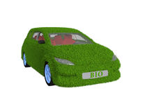 Green Car Royalty Free Stock Photo