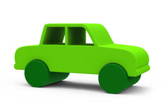 The green car Stock Photography