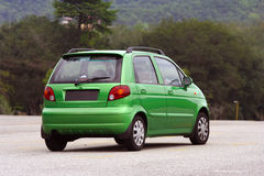 Green car Stock Photography