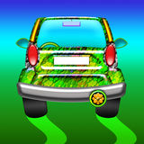 Green Car. A green Car for a Green World Royalty Free Stock Image