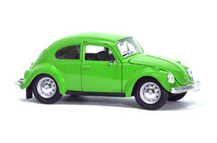Green car bug Royalty Free Stock Photos