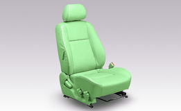 A green car chair Stock Images