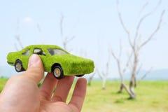Green car icon concept Stock Image
