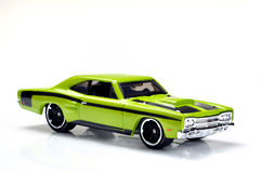 Green car toy Royalty Free Stock Image
