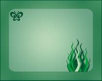 Green Card Lizenzfreie Stockfotos