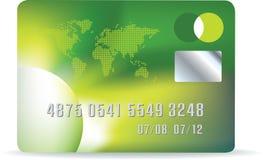 Green card vector illustration