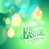 Green card for Easter holiday. Royalty Free Stock Photography