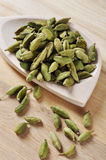 Green Cardamom Pods Stock Photography