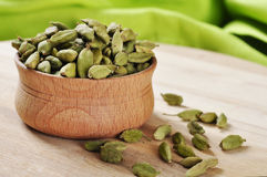 Green Cardamom Pods Stock Photos