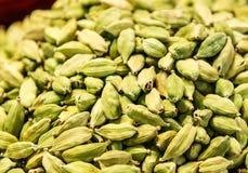 Green Cardamom seeds Stock Photo