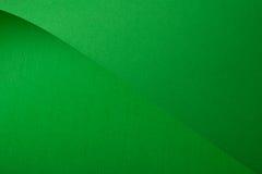Green cardboard Royalty Free Stock Image