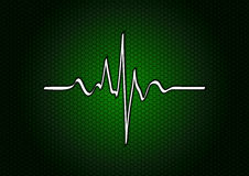 Green cardio Royalty Free Stock Image