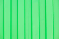 Green cargo ship container background, texture Royalty Free Stock Photo