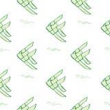 Green carp weave Royalty Free Stock Photos