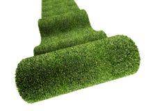 Green carpet Royalty Free Stock Image