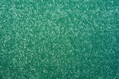 Green carpet background. Stock Image